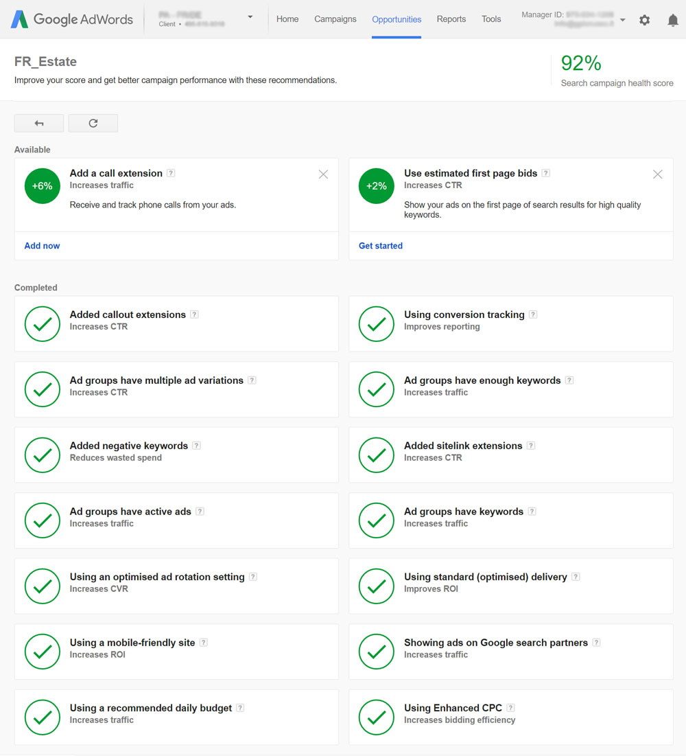 New Quality Score Optimization Tips Google Partners Certification
